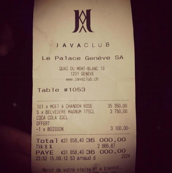 36k bill club