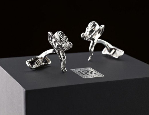 Rolls Royce Spirit of Ecstasy cufflinks