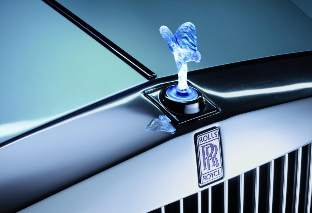 Spirit of Ecstasy Rolls Royce