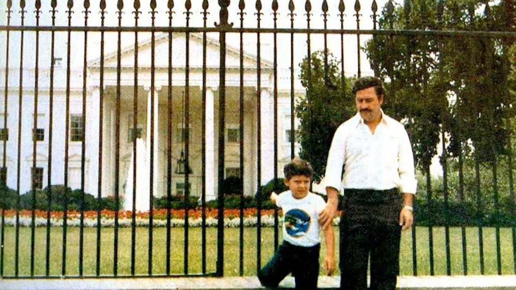pablo escobar white house