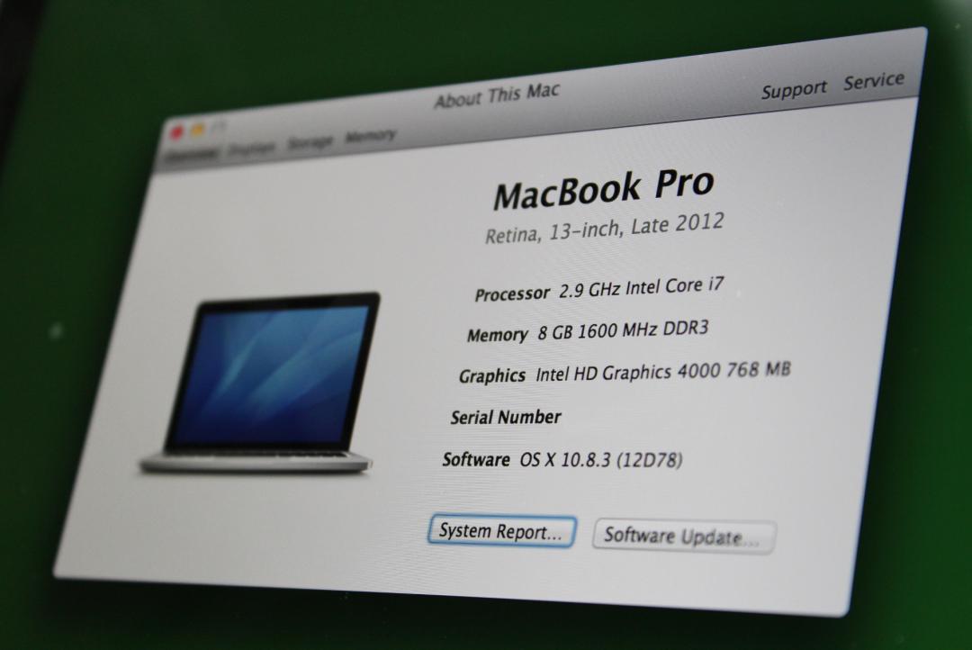 Ram upgrade Macbook Pro
