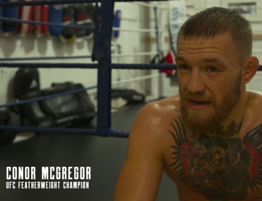 Conor McGregor prepares for UFC 205