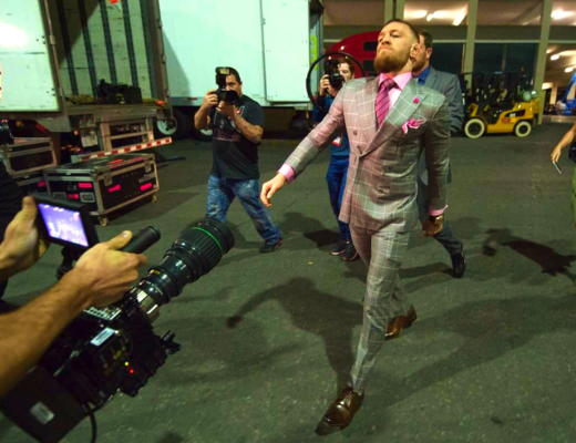 Conor McGregor walk