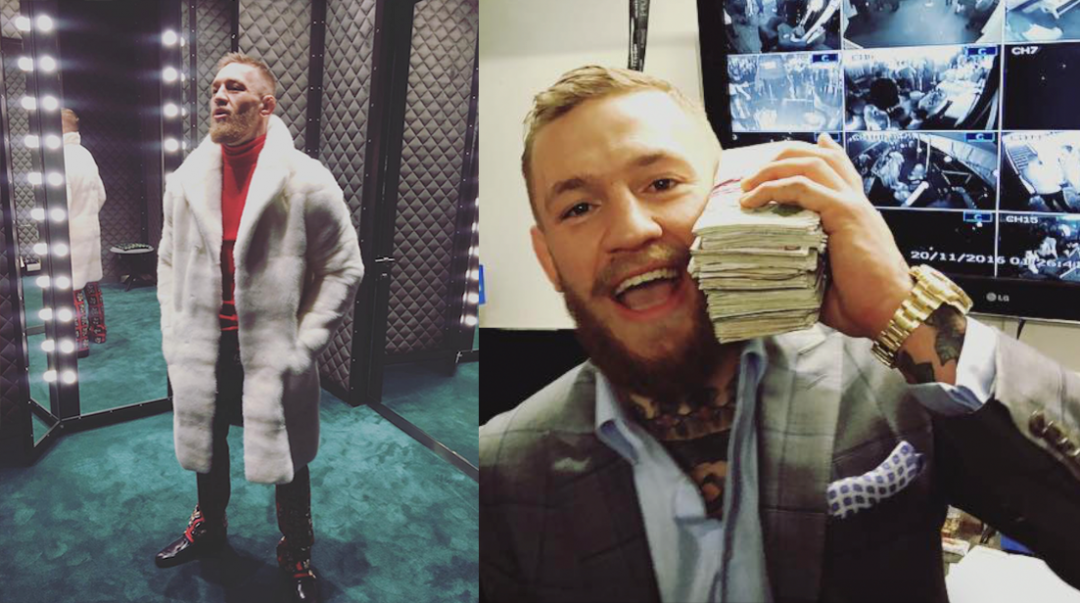 conor mcgregor money