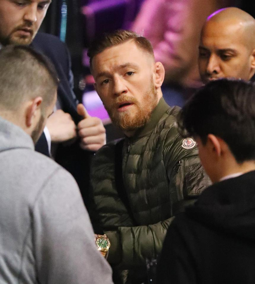 Conor McGregor Moncler Jacket