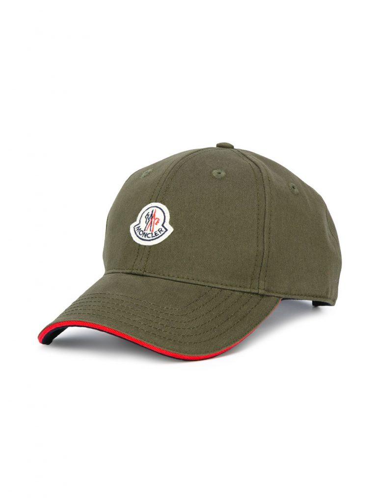 Moncler green baseball cap