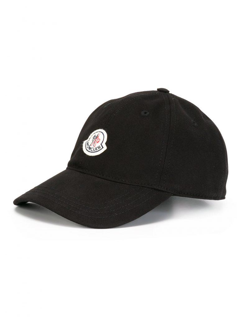 moncler classic cap black