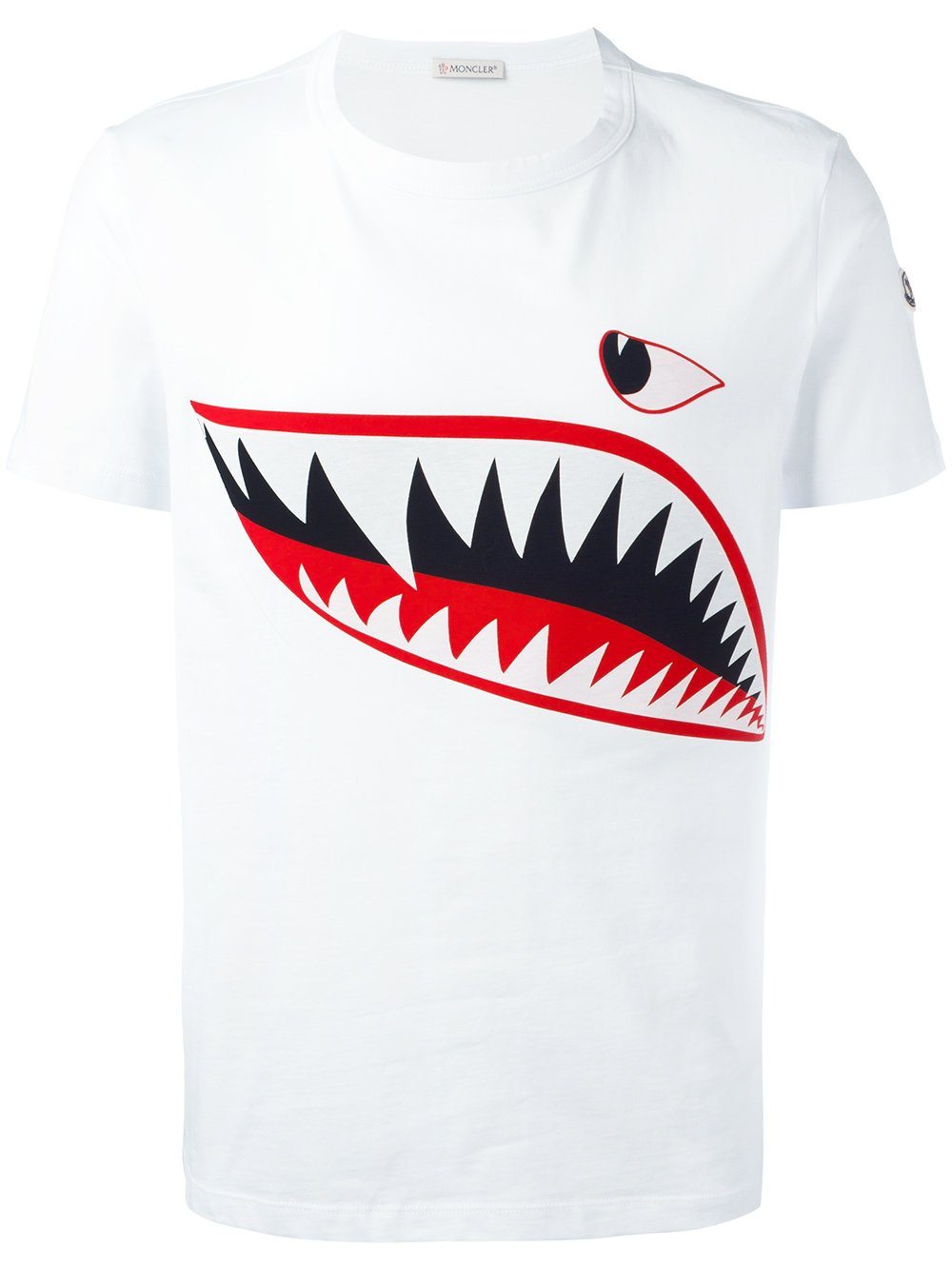 Moncler S New Shark Print T Shirts Are Fire Big Brand Boys