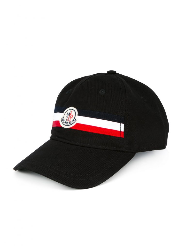 Moncler striped cap 2017