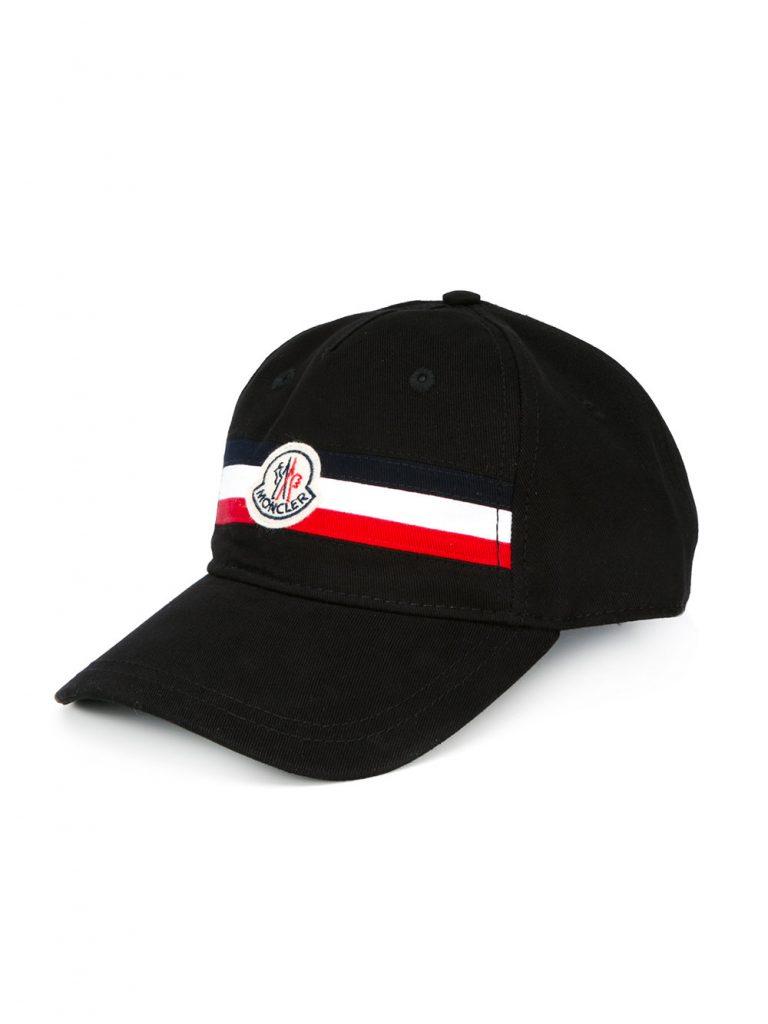 Moncler striped cap 2017