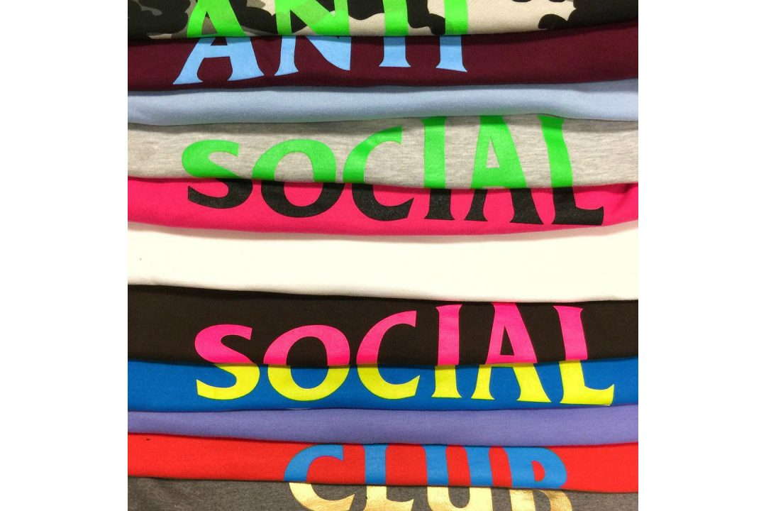 anti social social club t shirts 2017