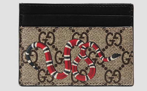 Gucci credit card holder