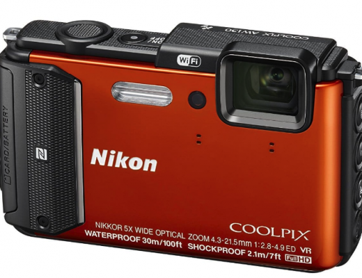 Nikon Coolpix Waterproof Camera