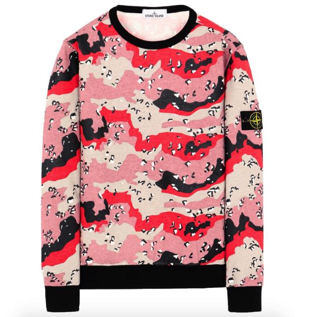 Stone Island Desert Camo Sweater